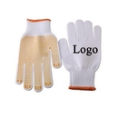 Custom Work Gloves Safety Gloves with PVC Dots, 9