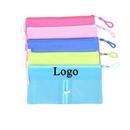 Custom Zipper Closure Soft PVC Stationery Pouch Bag, 7