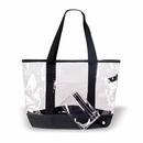 Custom Clear Tote Bag, Grocery Shopping Bag, 20