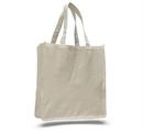 Custom Canvas Jumbo Shopper Gusset Bag, 14