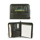 Custom Premium Zippered Padfolio, Personal Jotter, Notebook, 10.5