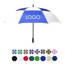 Custom Auto Open Golf Umbrella w/ Plastic Handle (60