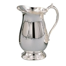 Custom Romantica Collection 64 Oz. Silver Water Pitcher