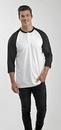 Custom Baseball Raglan 3/4 Sleeve Shirt