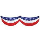 Custom Stars & Stripes Fabric Bunting, 70
