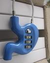 Custom Coded Metal Lock, 3 1/2