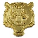 Custom Tiger Mascot Chenille Pin, 1