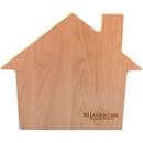Custom House Shaped Wood Cutting Board