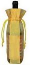 Custom Mesh Drawstring Wine Pouch, 5