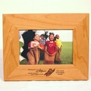 Custom Rectangle Wood Picture Frame for 4