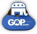 Custom Foam GOP Elephant Pop Up Visor