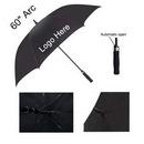 Custom 60'' Arc Auto Open Golf Umbrella