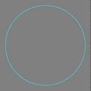 Custom Circle 2-1/8 Bag Tag