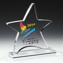 Custom Moving Star Award - Screen Printed