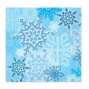 Custom Snowflake Luncheon Napkins