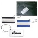 Custom Aluminum Luggage Tag, 3 1/8