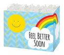 Blank Feel Better Sunshine Large Basket Box, 10 1/4