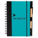 Custom 5 x 7 in Eco Friendly Spiral Notebook with Pen, 5