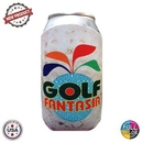 Custom Premium Full Color Dye Sublimation Collapsible Foam Golf Ball Worn Coolie, 1/8