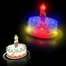Blank Flashing Birthday Cake Blinky