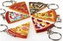 Custom Pizza Slice Key Chain