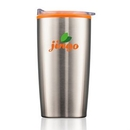 Custom The Serrano Double Wall Tumbler - Orange, 3.5