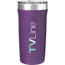 Custom 18 Oz Palermo - Powder - Matte Grape, 7.25