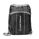 Custom The Leader Drawstring Bag - Black, 14.0