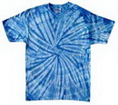 Custom Spider Baby Blue Tye Dye