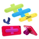 Custom Adhesive Silicone Slap Phone Stand/ Holder/ Support, 3 3/10