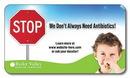 Custom 25 Mil Health Business Card Magnet w/ Round Corners (3.5