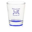 Bottom colored Custom 1.75 oz. Shot Glass, 2.00