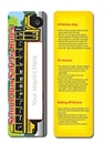 Custom Stock Full Color Digital Printed Bookmark - School Bus Safety Rule