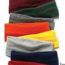 Custom Wolfmark Hunter Green Fleece Headband