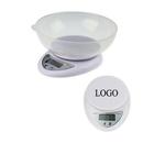 Custom Electronic Digital Kitchen Scale w/Bowl, 6 1/4