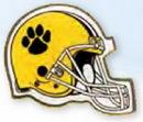 Custom Football Helmet Printed Stock Lapel Pin