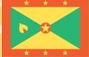 Custom Nylon Grenada Indoor/Outdoor Flag (2'x3')