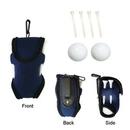 Custom Portable Golf Bag With 4 Tees &2 Balls, 4 3/8