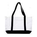 Custom Shopping Tote Bag 2 Tone, 19