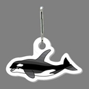 Custom Whale (Orca) Zip Up