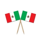 Custom Mexican Flag Picks, 2 1/2