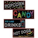 Custom Neon Food Sign Cutouts, 21