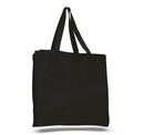 Custom Cotton Canvas Gusset Tote, 14