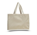 Custom Canvas Gusset Tote Bag, 15