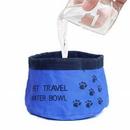 Custom 600D Oxford Waterproof Dog Bowl, 6.3