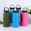 Custom 40 oz Vacuum Stainless cycling insulation Steel Water Bottle, 3.54