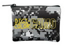 Custom DigiColor Camo Mini Wallet Coin Bag - 4 Color Process (5