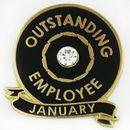 Custom Outstanding Employee - January, 7/8