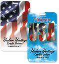 Custom Travel USA Lenticular Flip Image Luggage Tag
