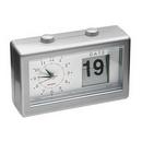 Custom Calendar Clock (Silver), 2 7/8